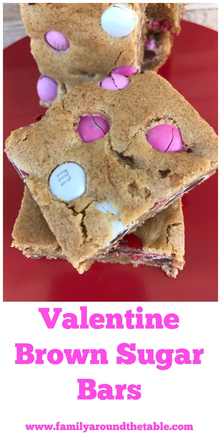 Valentine Brown Sugar Bars are a sweet treat.