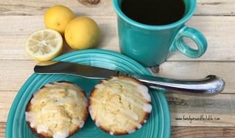 Key Lime Muffins with Key Lime Glaze