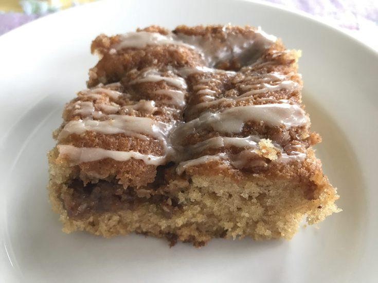 Overnight Nutty Coffee Cake