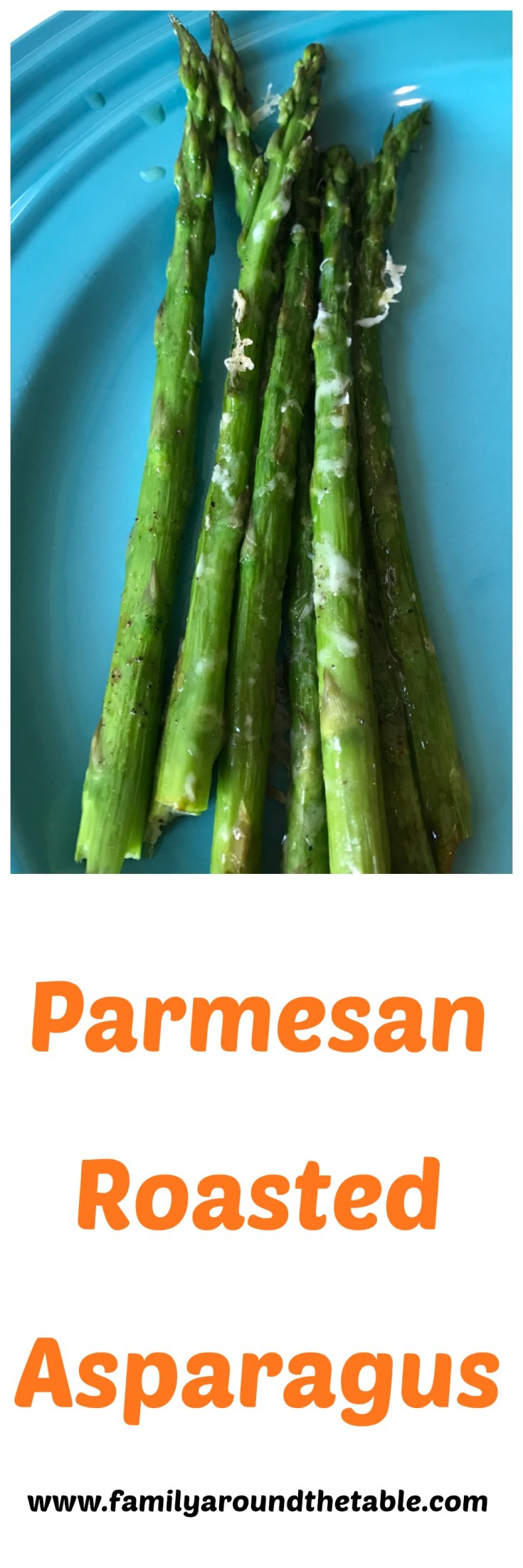 Parmesan Roasted Asparagus is a delicious side dish.