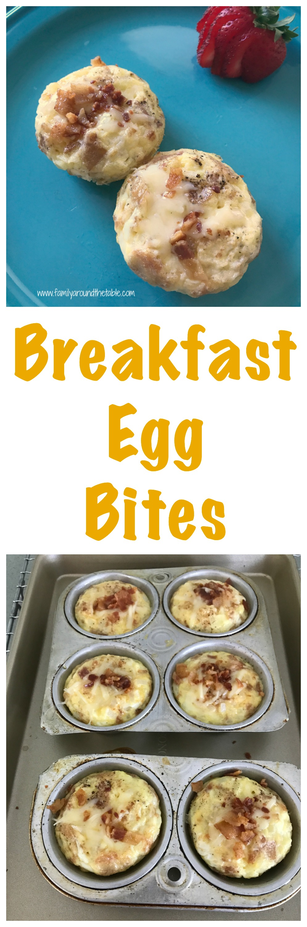 Breakfast egg bites