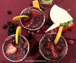 Blackberry Wine Slush