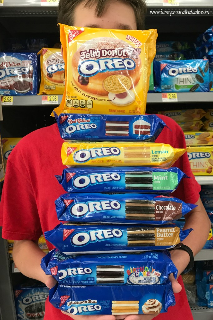 Just some of the OREO flavors.