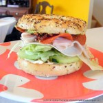 Everything Sandwich on the Everything Bagel