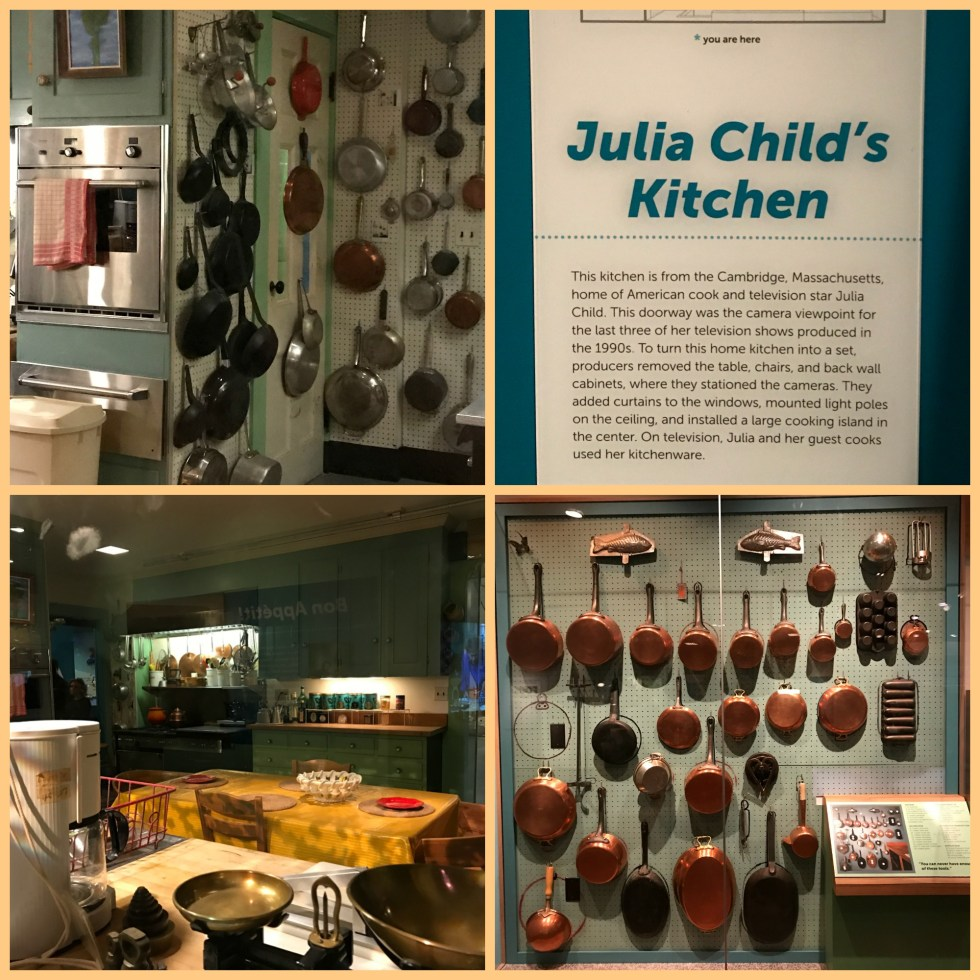 Julia Child's kitchen at the Smithsonian Institution.