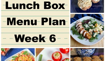 School Lunch Box Menu Plan Week 6