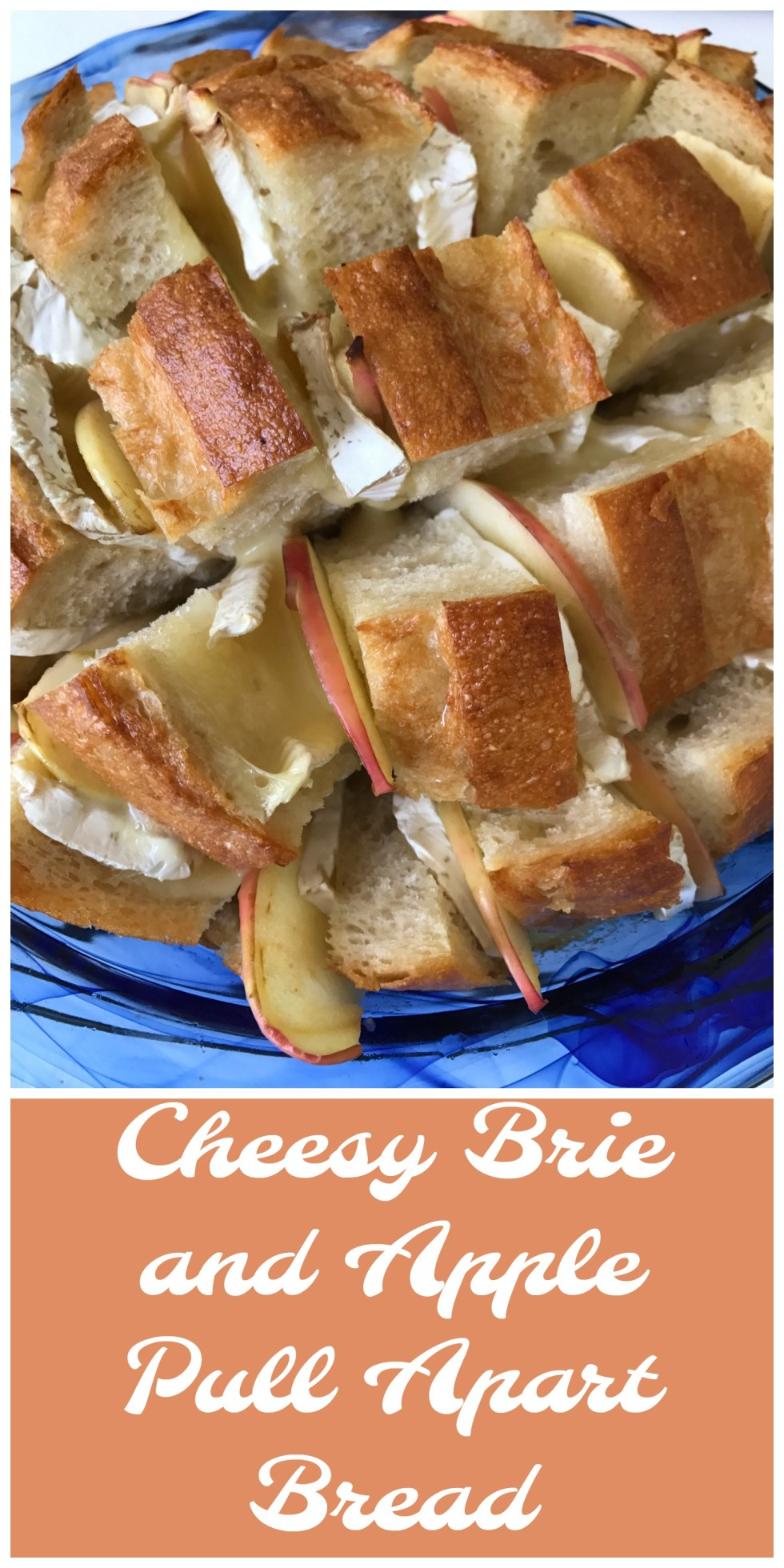 Brie and apples are a delicious pair for this cheesy appetizer.