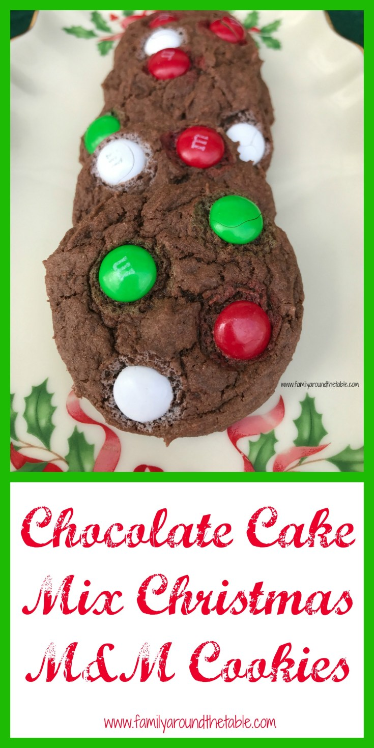 It's always great to have a couple of cookie recipes that start with a cake mix.