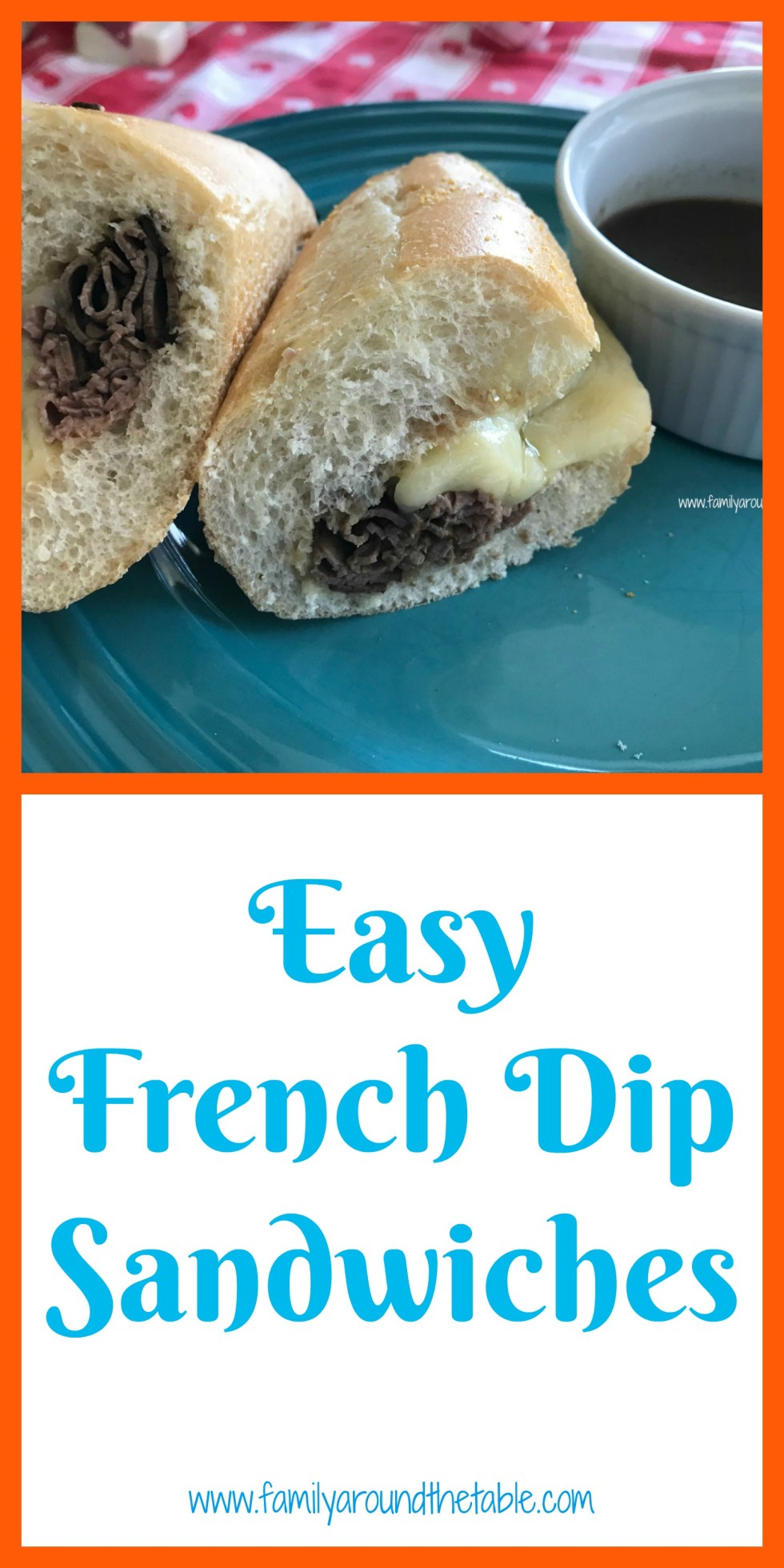 Easy French dip sandwiches are easier to make than you think.
