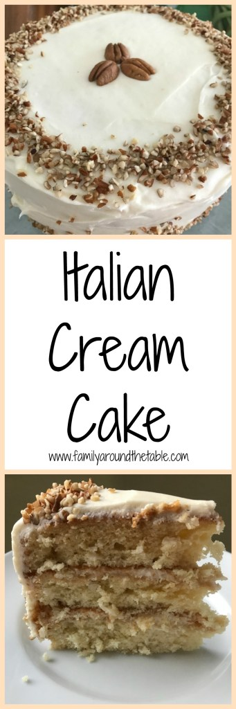 talian Cream Cake, also known as Italian Wedding Cake, is perfect for any special occasion.