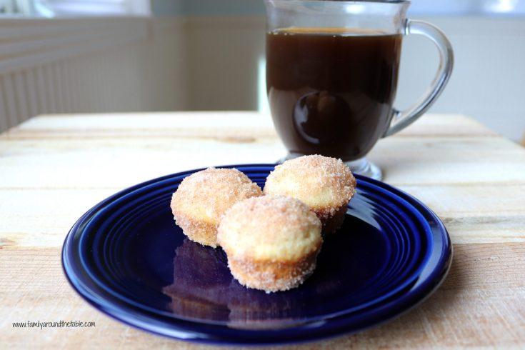 Mini Cinnamon Sugar Muffins