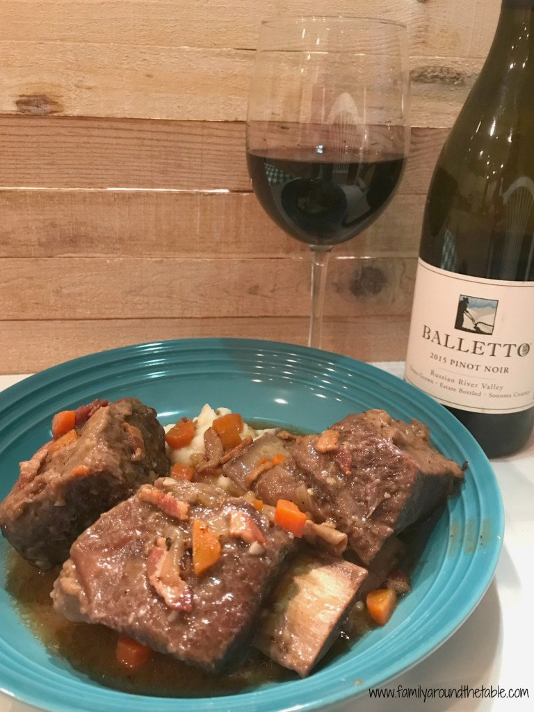 Wine braised short ribs are perfect for entertaining or a special occasion.