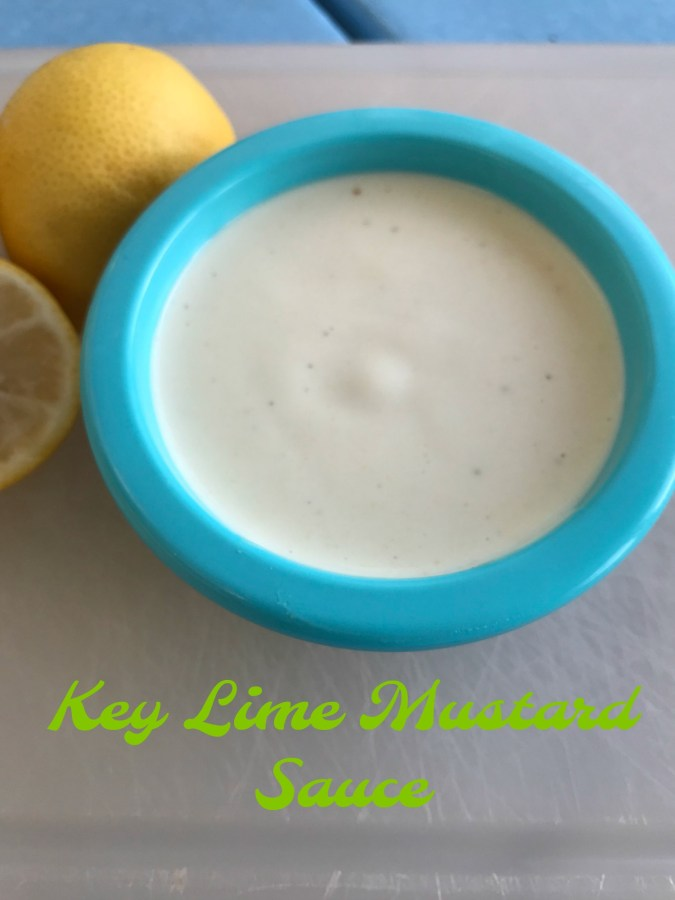 Key lime mustard sauce is the only condiment you need when serving Florida Stone Crab claws.