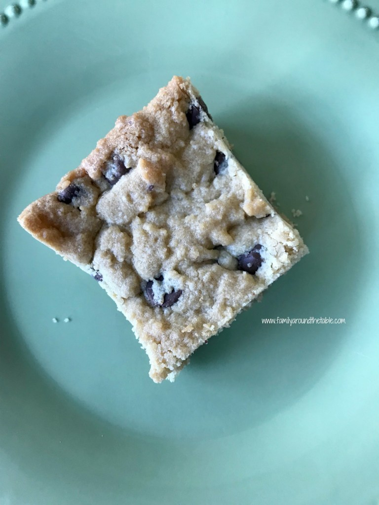 Get the recipe for chocolate chip cookie bars in my guest post at Bear & Bug Eats.