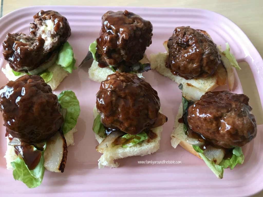 Sweet and Smoky Juicy Lucy BBQ Sliders are perfect for lunch, dinner or game day.