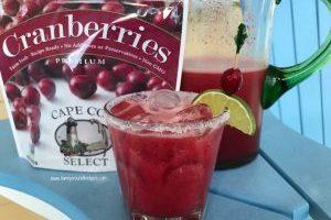 Cranberry Lime Margaritas