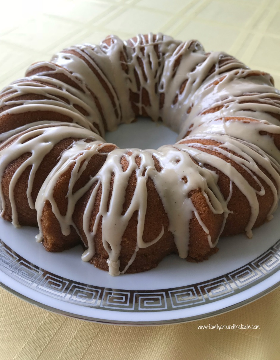 Maple Bundt Cake with Cinnamon Maple Glaze