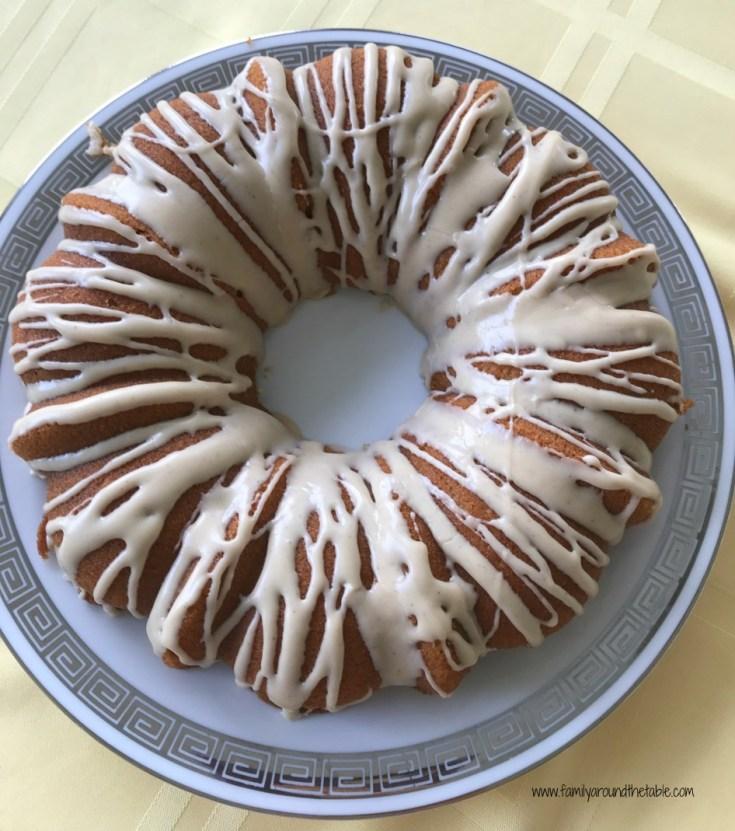 Maple Bundt Cake with Cinnamon Maple Glaze