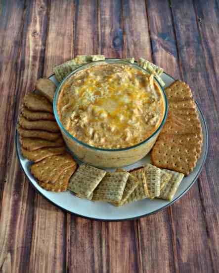 Buffalo chicken dip from Hezzi-D's Books and Cooks.