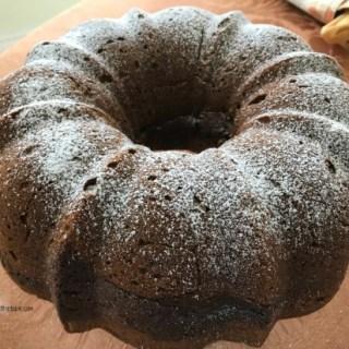Chocolate Truffle Pumpkin Pound Cake