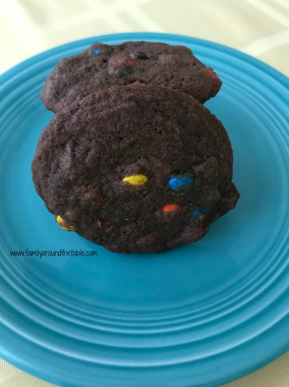 Make Ultimate Chocolate M&M Cookies as an end of week treat for the family.