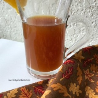 Hot Citrus Cider is not just for fall. Warm up on any chilly day with a mug.Hot Citrus Cider is not just for fall. Warm up on any chilly day with a mug.