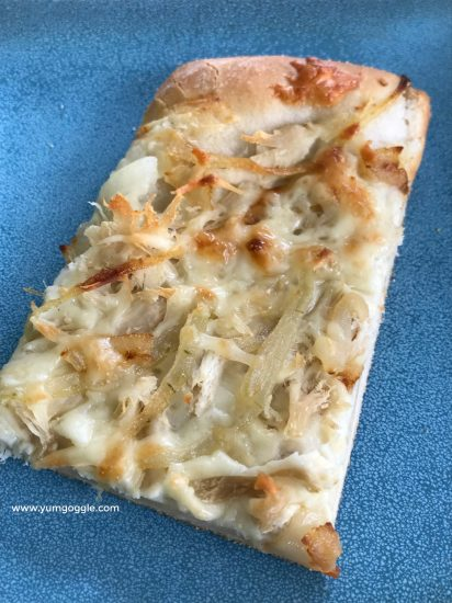 With easy homemade pizza dough you can make any type of pizza you love.