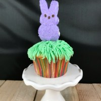 Peeps Bunny Trail Cupcakes