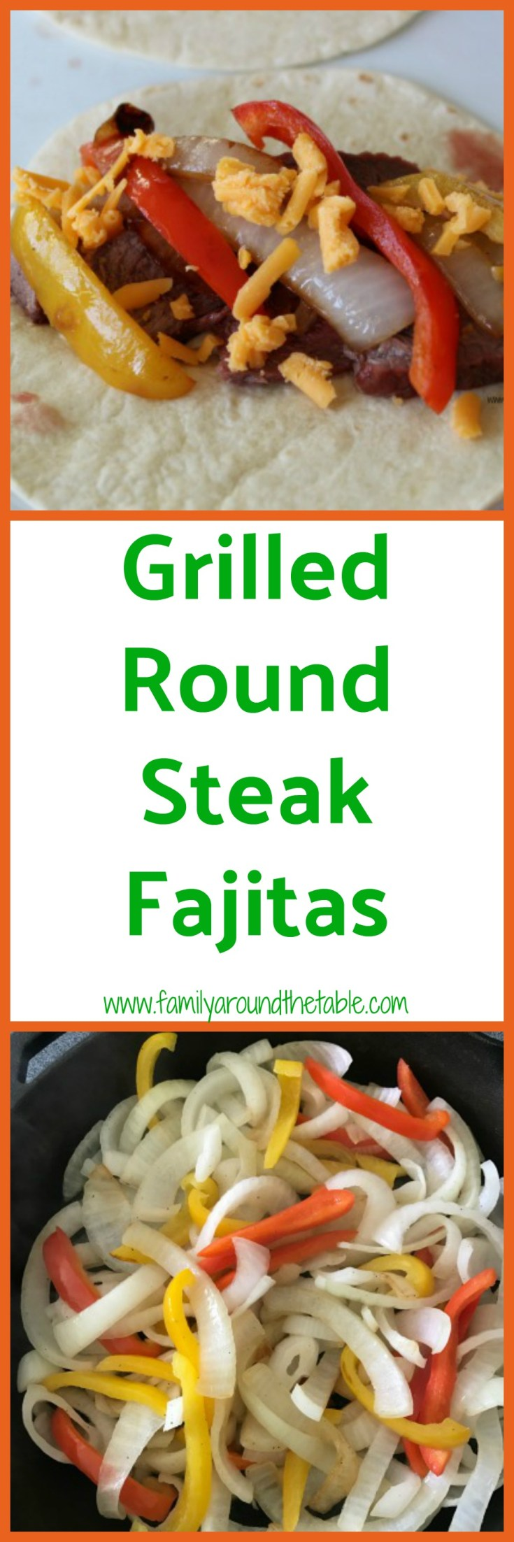 It's easy to make steak fajitas at home!