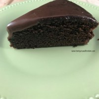 Double Chocolate Fudge Cake