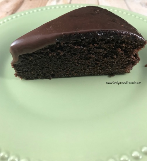 Double chocolate fudge cake is rich and delicious. Perfect for any special occasion.