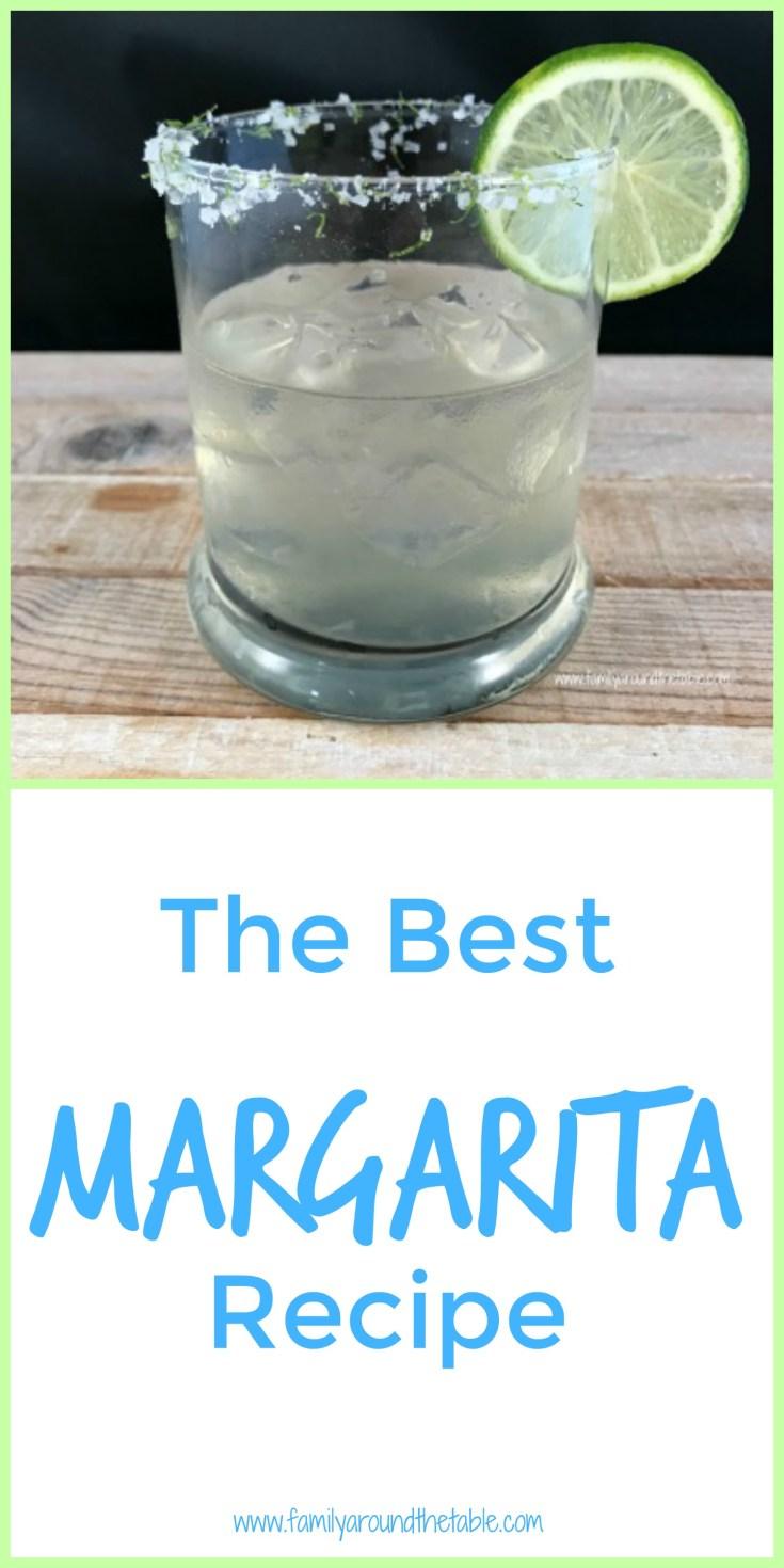 Summer entertaining calls for classic margaritas. This is the best margarita recipe I've found.