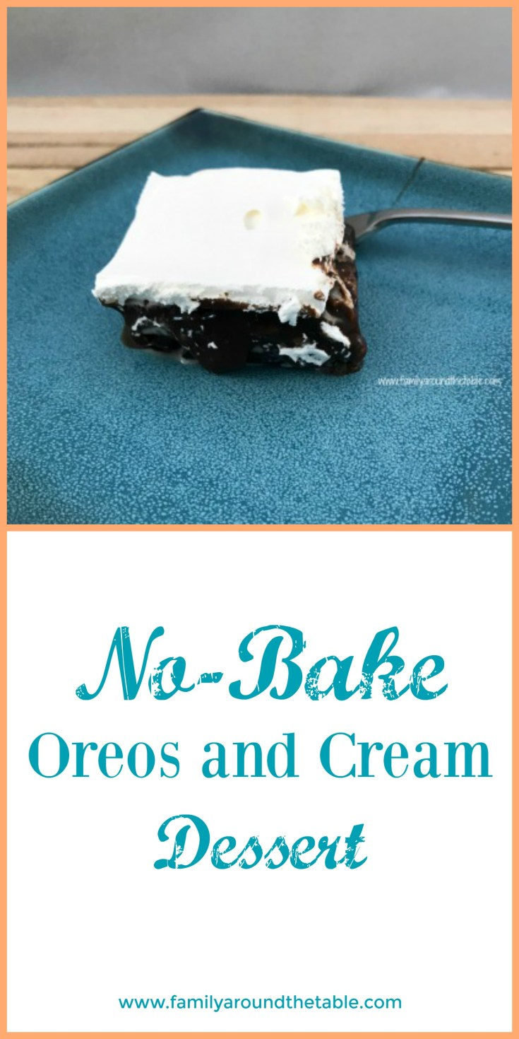 Cool and delicious, this no-bake Oreos and cream dessert is perfect for hot summer parties.