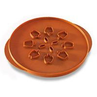 Nordic Ware Reversible Apples & Leaves Pie Top Cutter