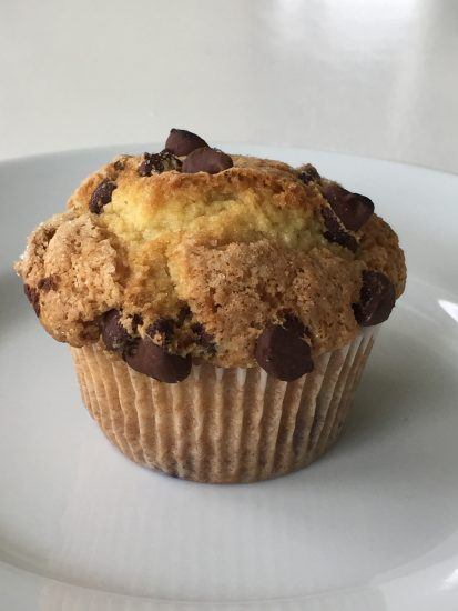 Chocolate chip muffins are sure to be a hit with your family.