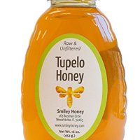 Smiley Honey - Tupelo Honey Raw and Unfiltered (16 oz)