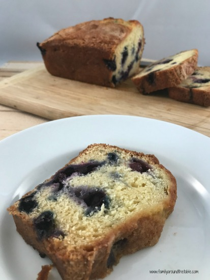 Blueberry orange bread is an easy quick bread to make for breakfast or snacks.