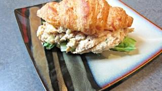 Apple Curry Tuna Salad Croissants