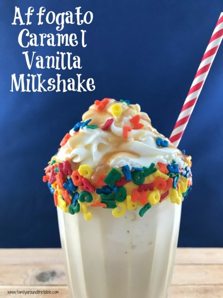 Affogato Caramel Vanilla Milkshake