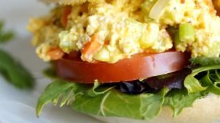 """Simple Tofu """"egg salad"""""""