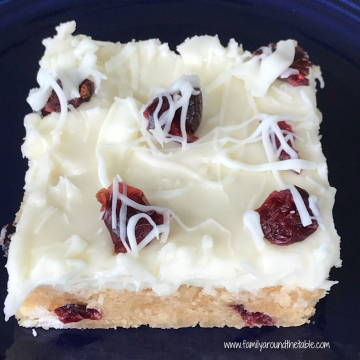 Cranberry Bliss Bars (Starbucks Copycat)
