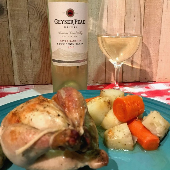 Rosemary Roasted Cornish Hens