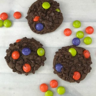 M and M Chocolate Chip Cookies