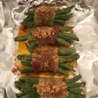 Bacon Wrapped String Beans