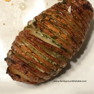 Herbed Hasselback Potatoes