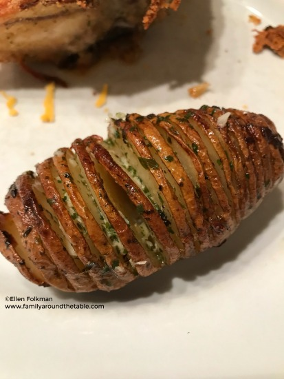Hassleback potatoes are and easy side dish for any entree.