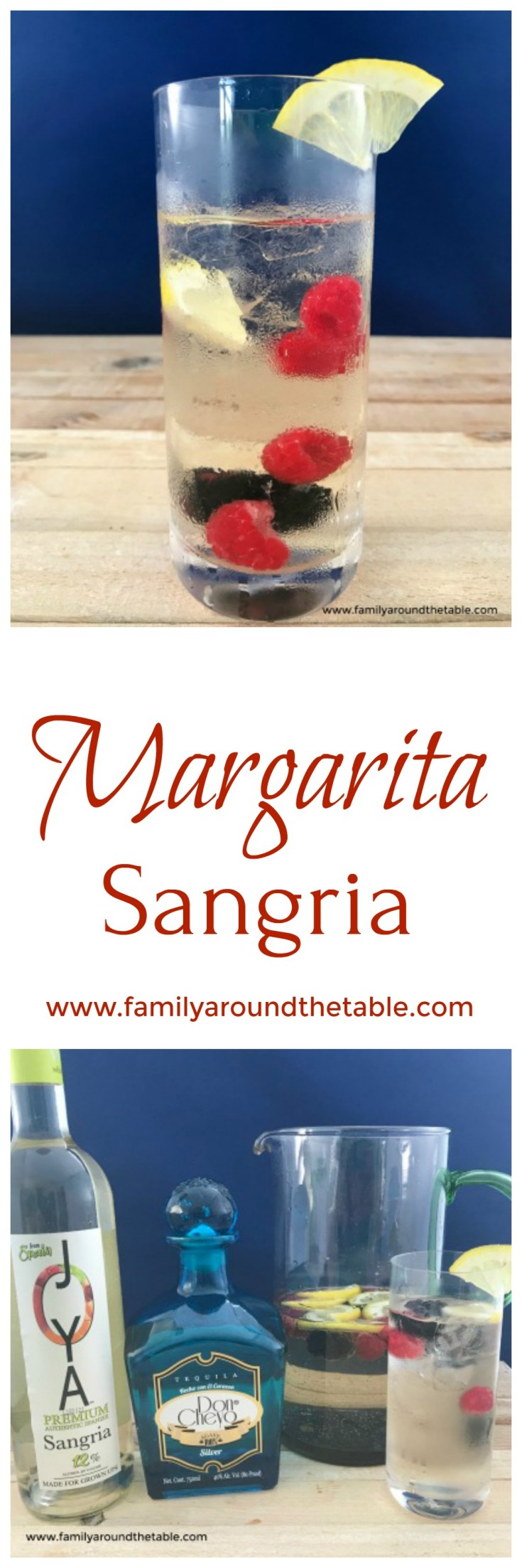 Margarita Sangria is perfect for entertaining.