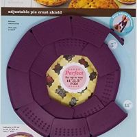 Good Cook Pie Crust Shield Silicone Adjustable 5 to 11 Inch pies