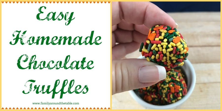 Easy Homemade Chocolate Truffles are rich and decadent. A true treat!