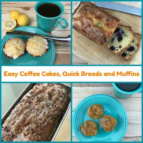 A collection of easy recipes for grab and go breakfasts and snacks. Perfect when company comes to visit.